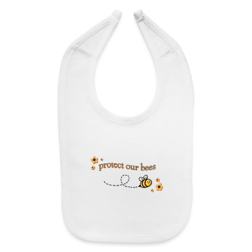 save the bees - Baby Bib