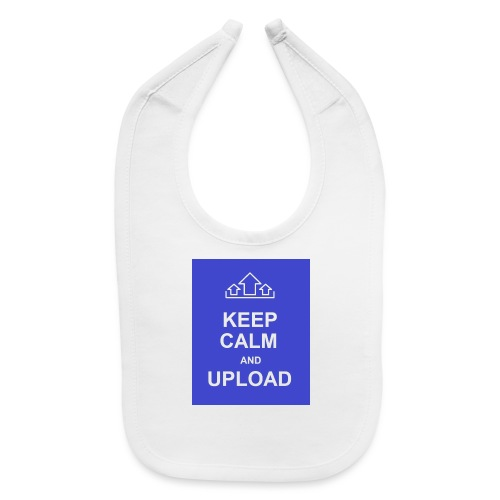 RockoWear Keep Calm - Baby Bib