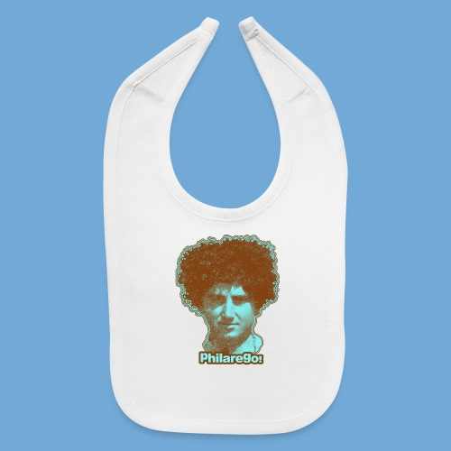 Shaggy Hair man. - Baby Bib