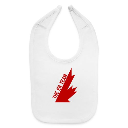 The Eh Team Red - Baby Bib