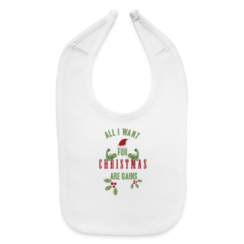 All i want for christmas - Baby Bib