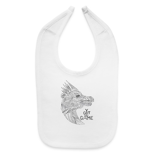 "Dragon ""you got game"" - Baby Bib"
