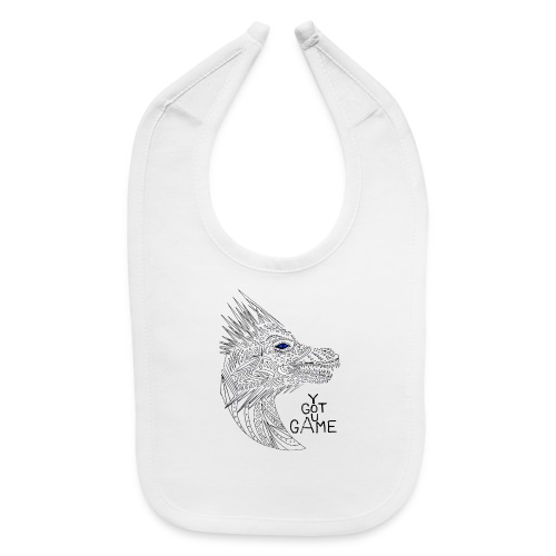 Blue eye dragon - Baby Bib