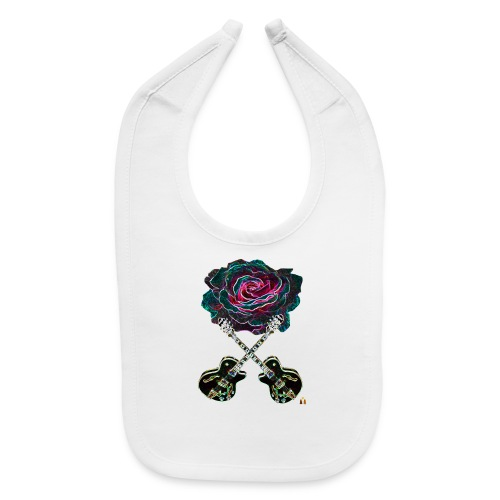 Black Rose - Baby Bib