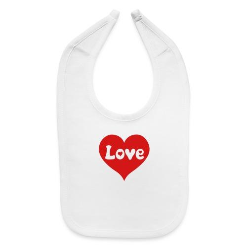 Love Heart - Baby Bib