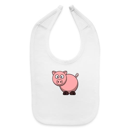 Funny Pig T-Shirt - Baby Bib