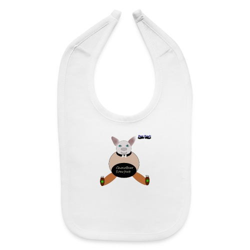 Girls ChocoBear Flare Shirt - Baby Bib