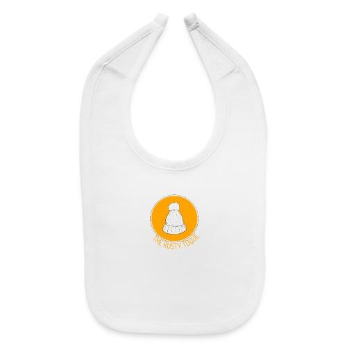 The Rusty Toque Orange Logo 2 - Baby Bib