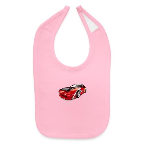 cars drift - Baby Bib