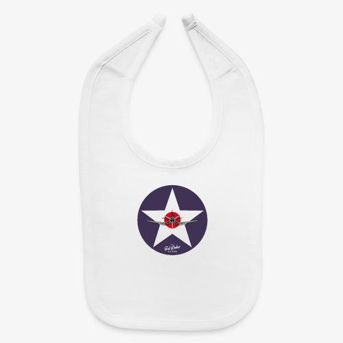 Navy Star - Baby Bib