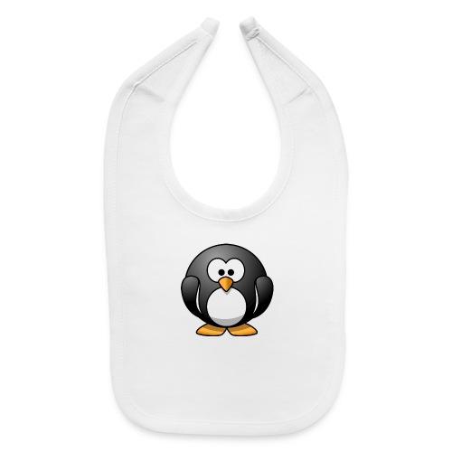Funny Penguin T-Shirt - Baby Bib