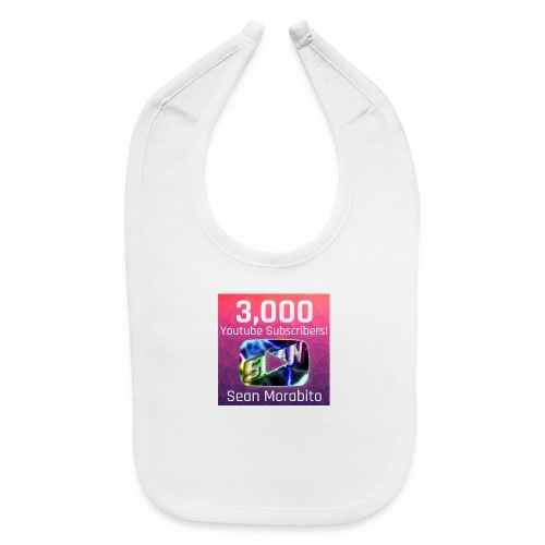 Sean Morabito's 3000 Sub's Logo - Baby Bib