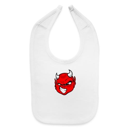 Rebelleart devil - Baby Bib