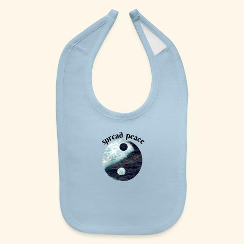 spread peace - Baby Bib
