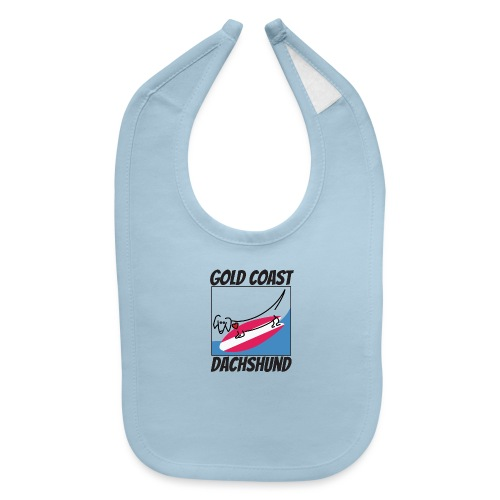 Gold Coast Dachshund - Baby Bib