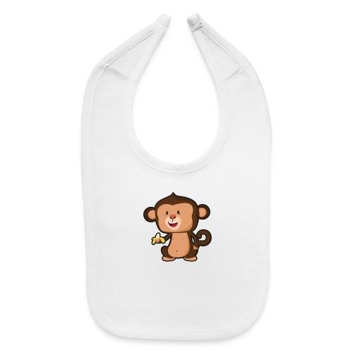 Baby Monkey - Baby Bib
