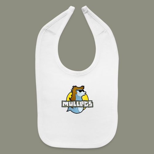 mullets logo - Baby Bib