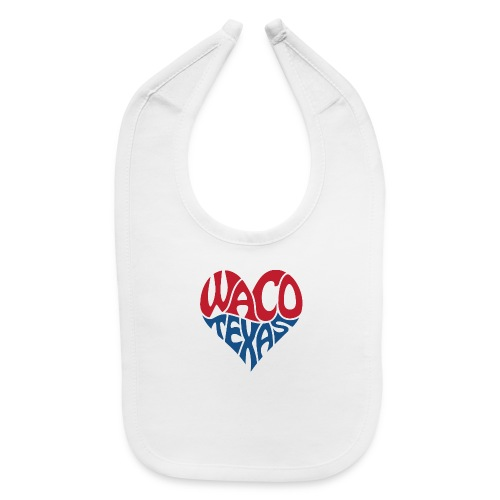 Heart of Waco Texas - Baby Bib