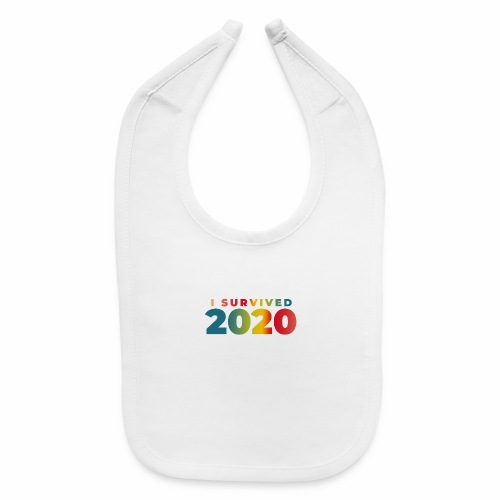 I SURVIVED 2020 - Baby Bib