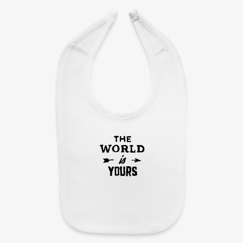 the world - Baby Bib