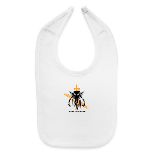 Mandalorian Logo - Baby Bib