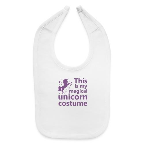 This is my magical unicorn costume - Baby Bib