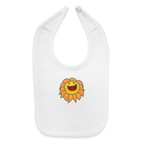 Happy sunflower - Baby Bib