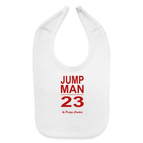 JUMP MAN 23 RED P - Baby Bib