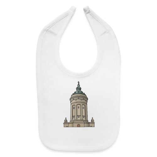 Mannheim water tower - Baby Bib