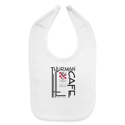Thurman Cafe Traditional Logo - Baby Bib