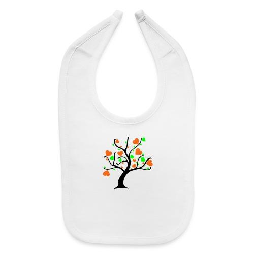 Tree of Hearts - Baby Bib