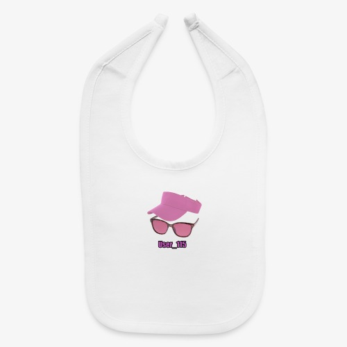 Glasses And Hat - Baby Bib