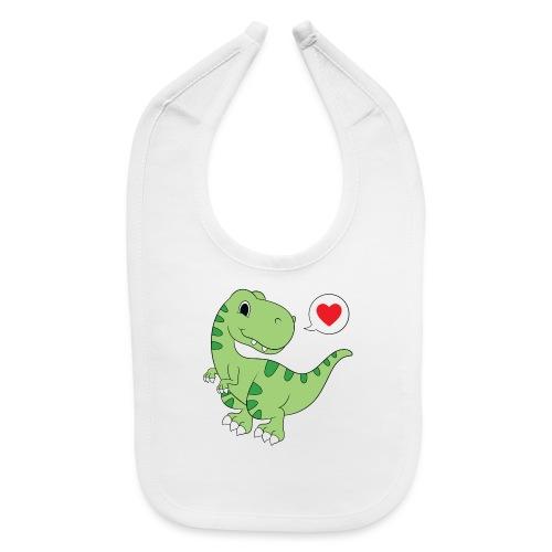 Dinosaur Love - Baby Bib