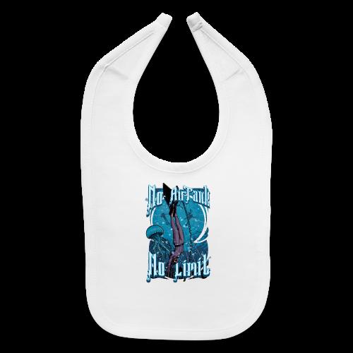 No Air Tank No Limit Freediving merchandise - Baby Bib