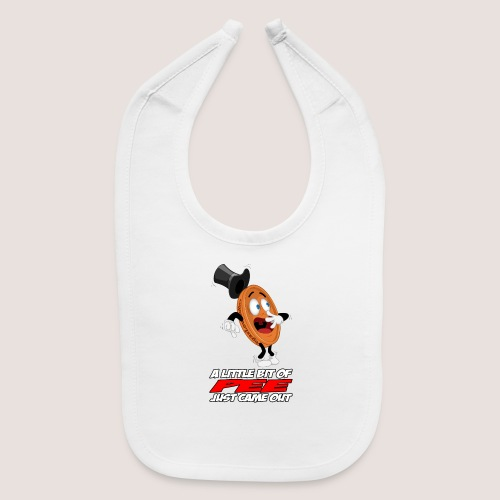 THE SCARED PENNY WITH TEXT - Baby Bib