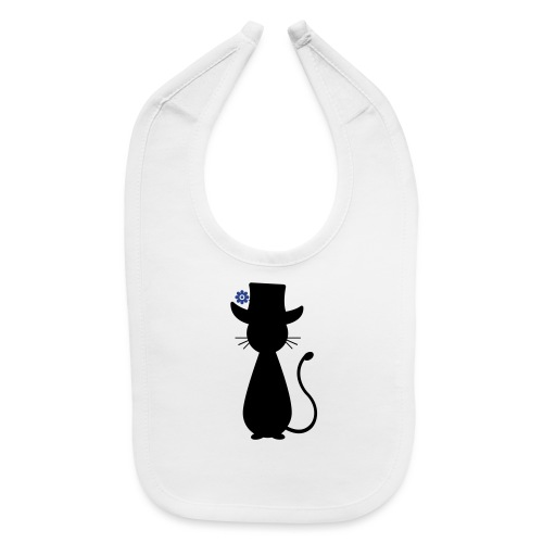 Cats - a Cat with a Hat - Baby Bib