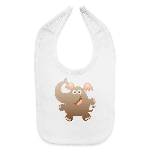 Smiling Little Elephant - Baby Bib