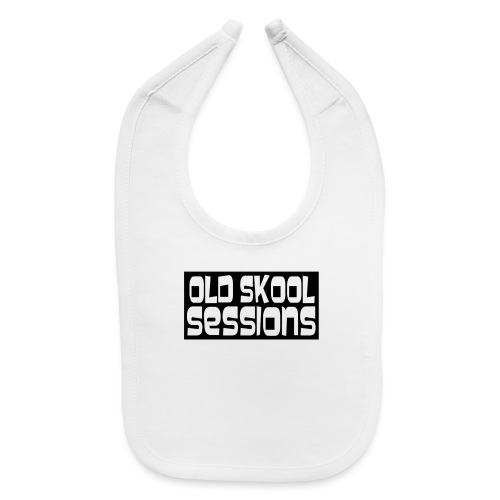 Old Skool Sessions Merch - Baby Bib