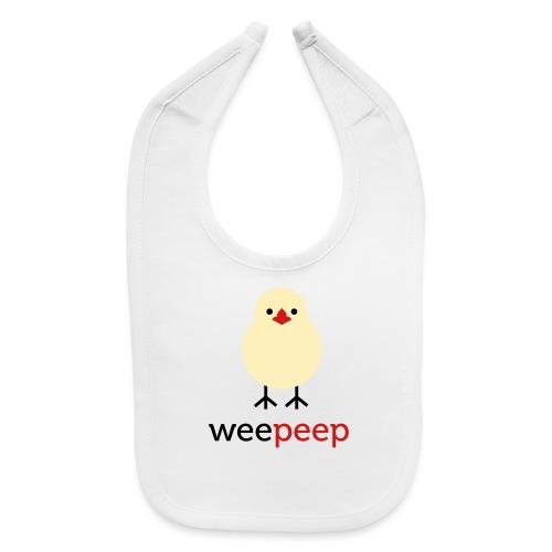 wee peep - Baby Bib