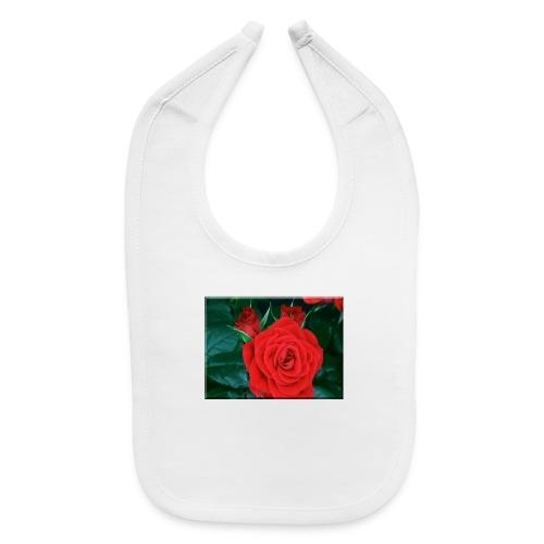 111885 Blooming Roses - Baby Bib