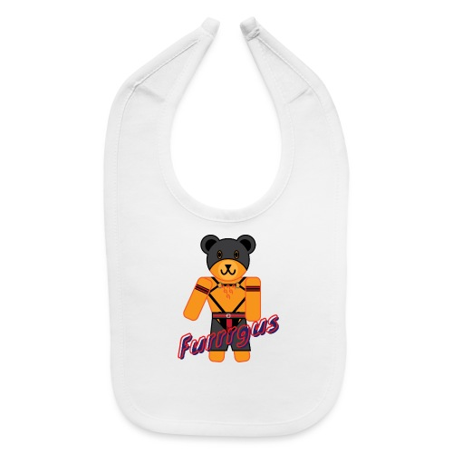 Leather Furrrgus - Baby Bib