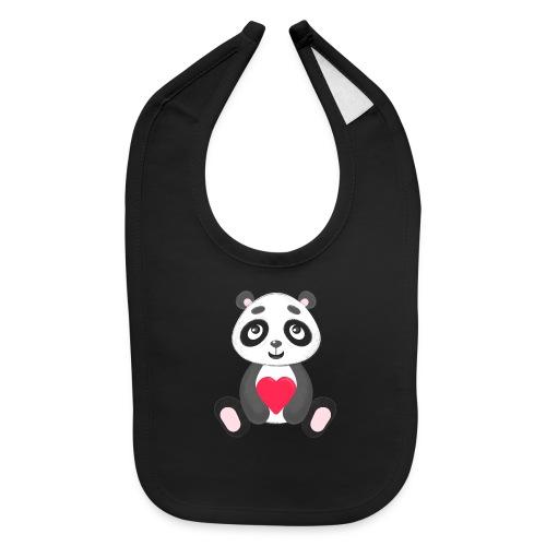 Sweetheart Panda - Baby Bib