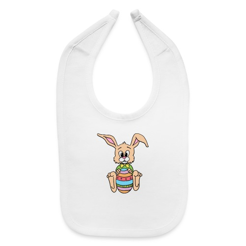 Easter Bunny Shirt - Baby Bib