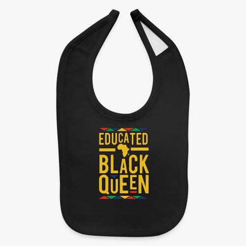 Dashiki Educated BLACK Queen - Baby Bib