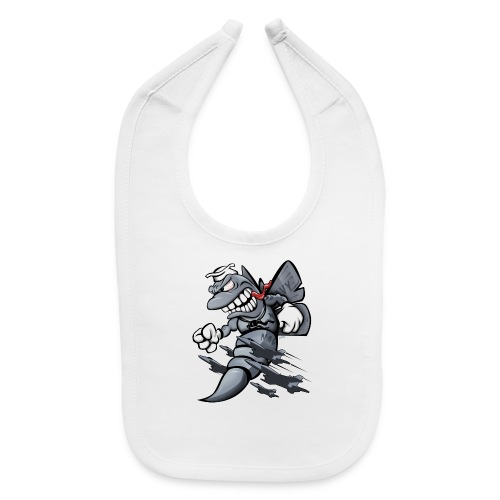 F/A-18 Hornet Fighter Attack Military Jet Cartoon - Baby Bib