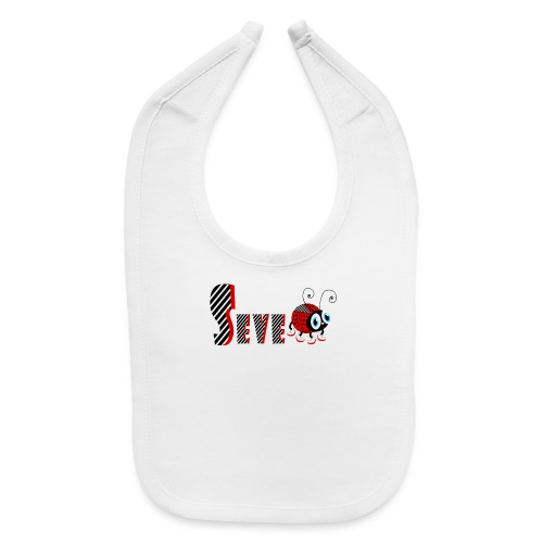 7nd Year Family Ladybug T-Shirts Gifts Daughter - Baby Bib