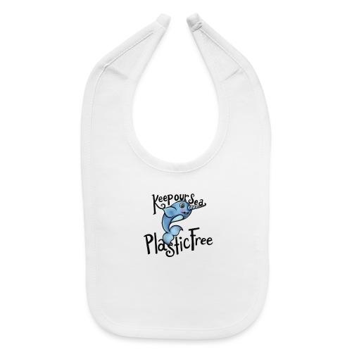 Keep our sea plastic free - Baby Bib