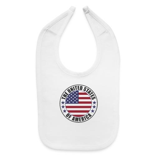 The United States of America - USA - Baby Bib