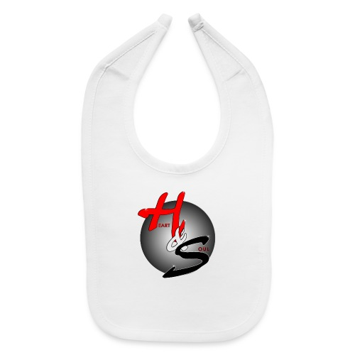 Heart & Soul Concerts official Brand Logo - Baby Bib