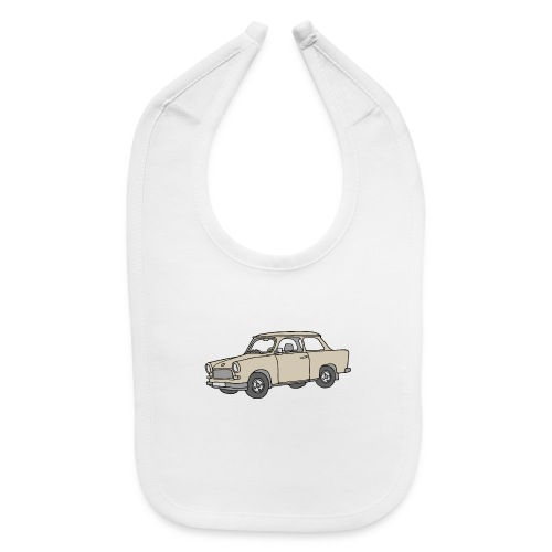 Trabant (papyrus car) - Baby Bib